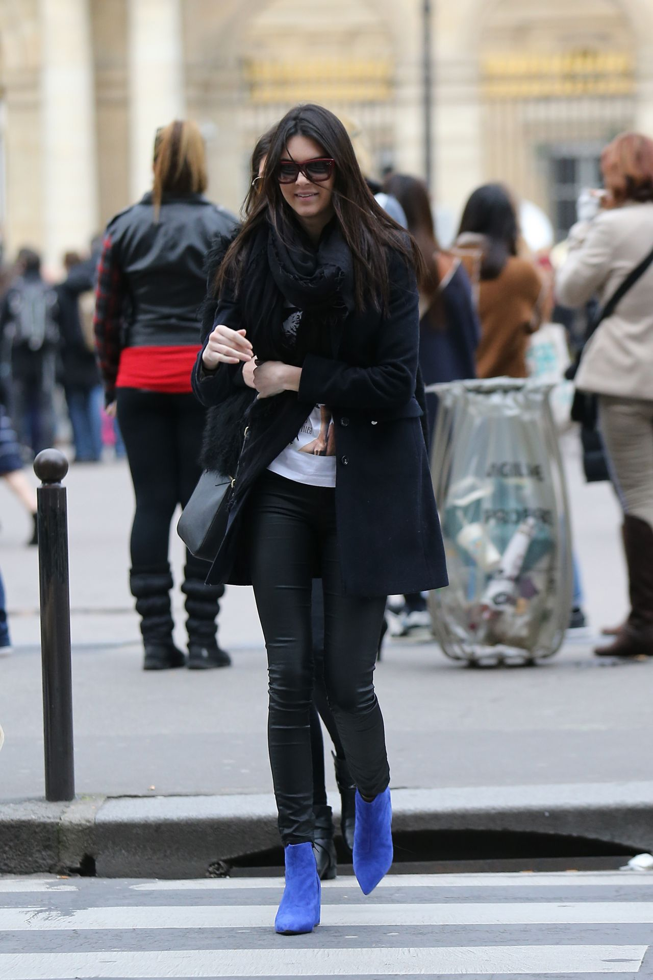 Kendall Jenner Street Style - Out in Paris, March 2014