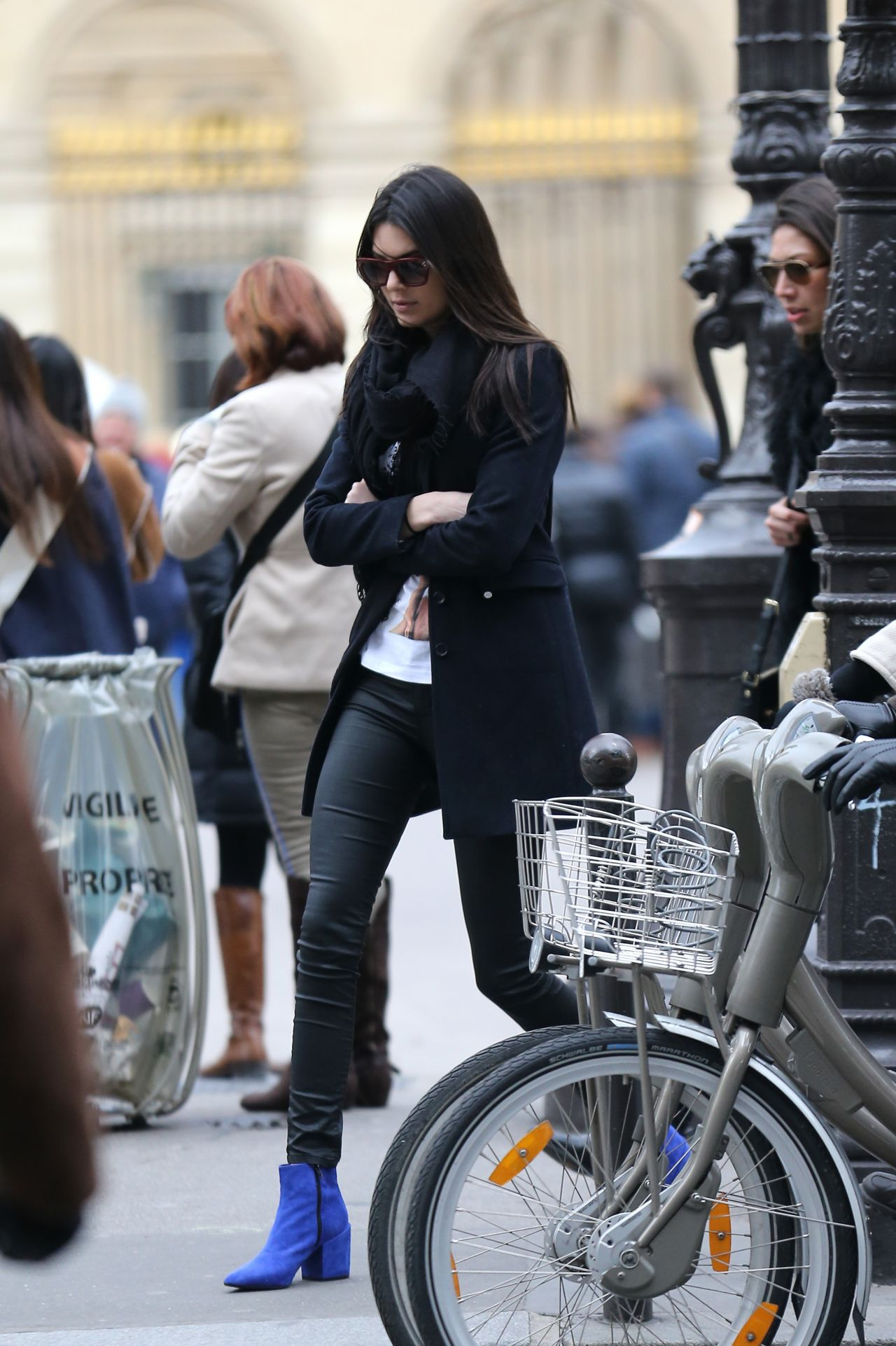 Kendall Jenner Street Style Out In Paris March 2014