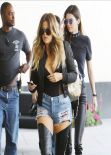 Khloe Kardashian & Kendall Jenner Style - Arriving at Loews Hollywood Hotel, March 2014