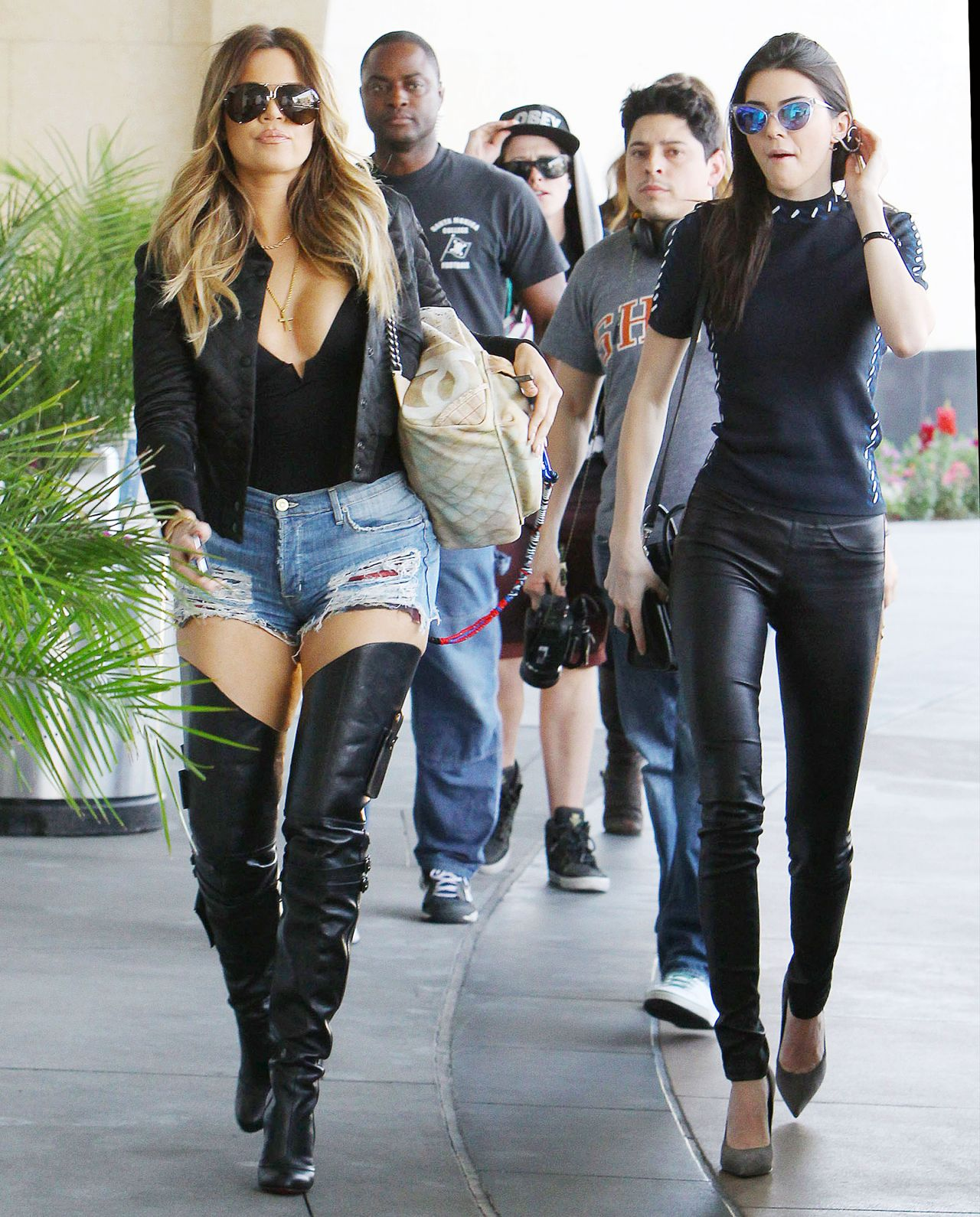 image Kendall jenner khloe amp kourtney kardashian must see