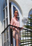 Kim Kardashian in Miami - Goes for Lunch at The Webster