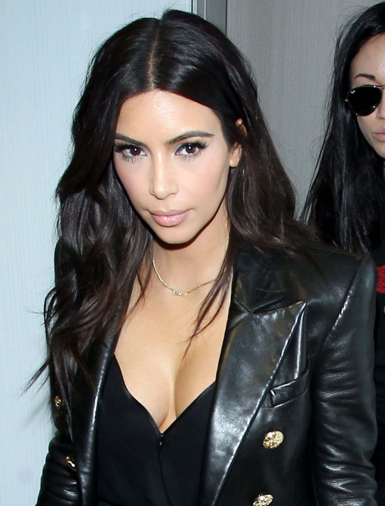 Kim Kardashian Lax Airport March 2014