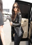 Kim Kardashian - LAX Airport, March 2014