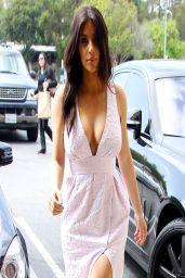 Kim Kardashian Street Style - Shops For Camera Gear - March 2014