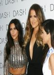 Kim, Khloe, & Kourtney Kardashian - Grand Opening of DASH in Miami Beach - March 2014