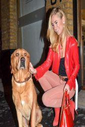 Kimberley Garner at the Company Of Dogs Portrait Exhibition - March 2014