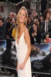 Kimberley Garner - 'Noah' Premiere at Odeon Leicester Square in London