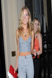 Kimberley Garner Sexy Style - 25 Yrs of Magnum in London - March 2014
