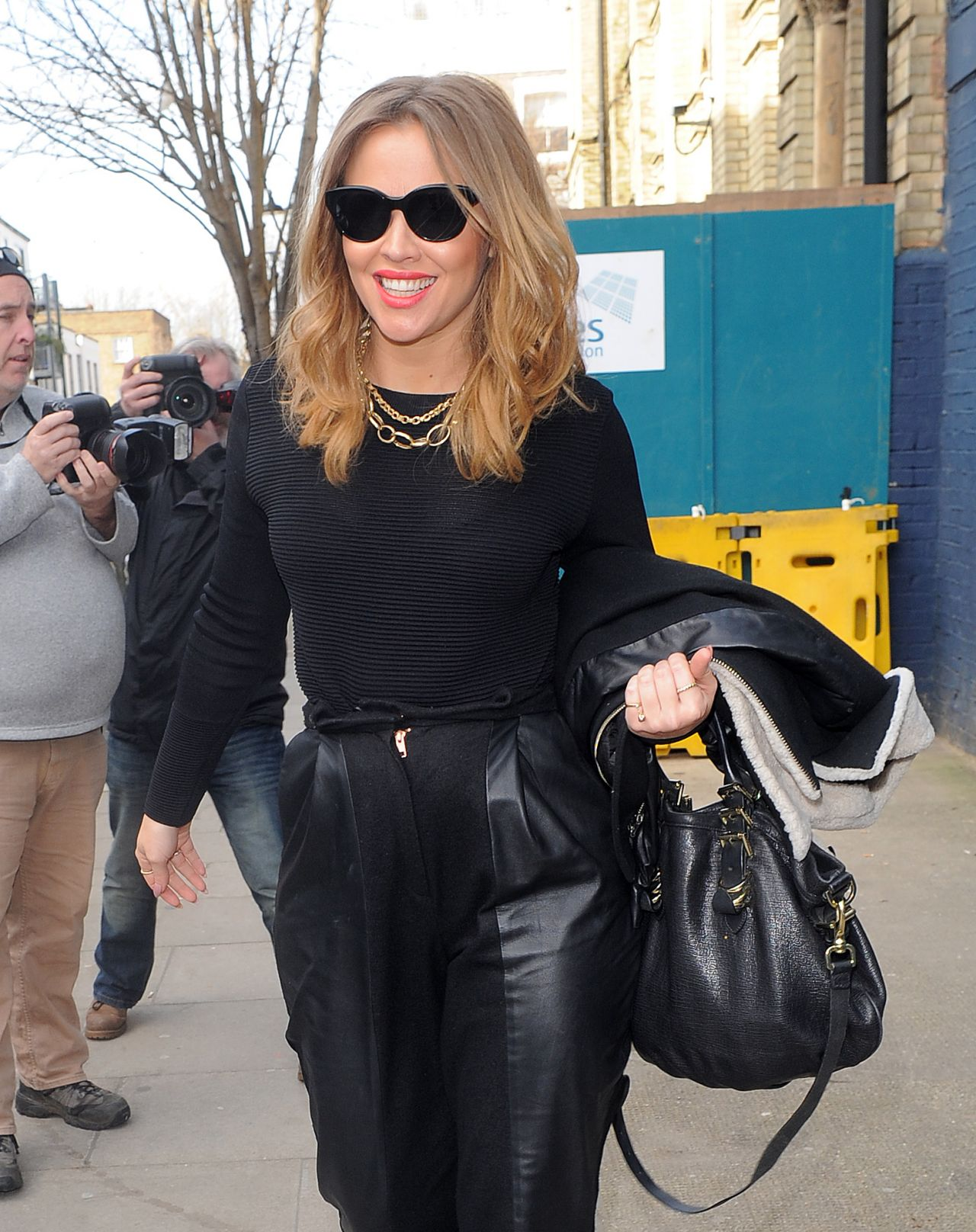 Kimberley Walsh - England 2014 World Cup Song Recording, March 2014