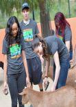 Kira Kosarin - 2014 Nickelodeon Get Dirty Earth Day - LA Zoo