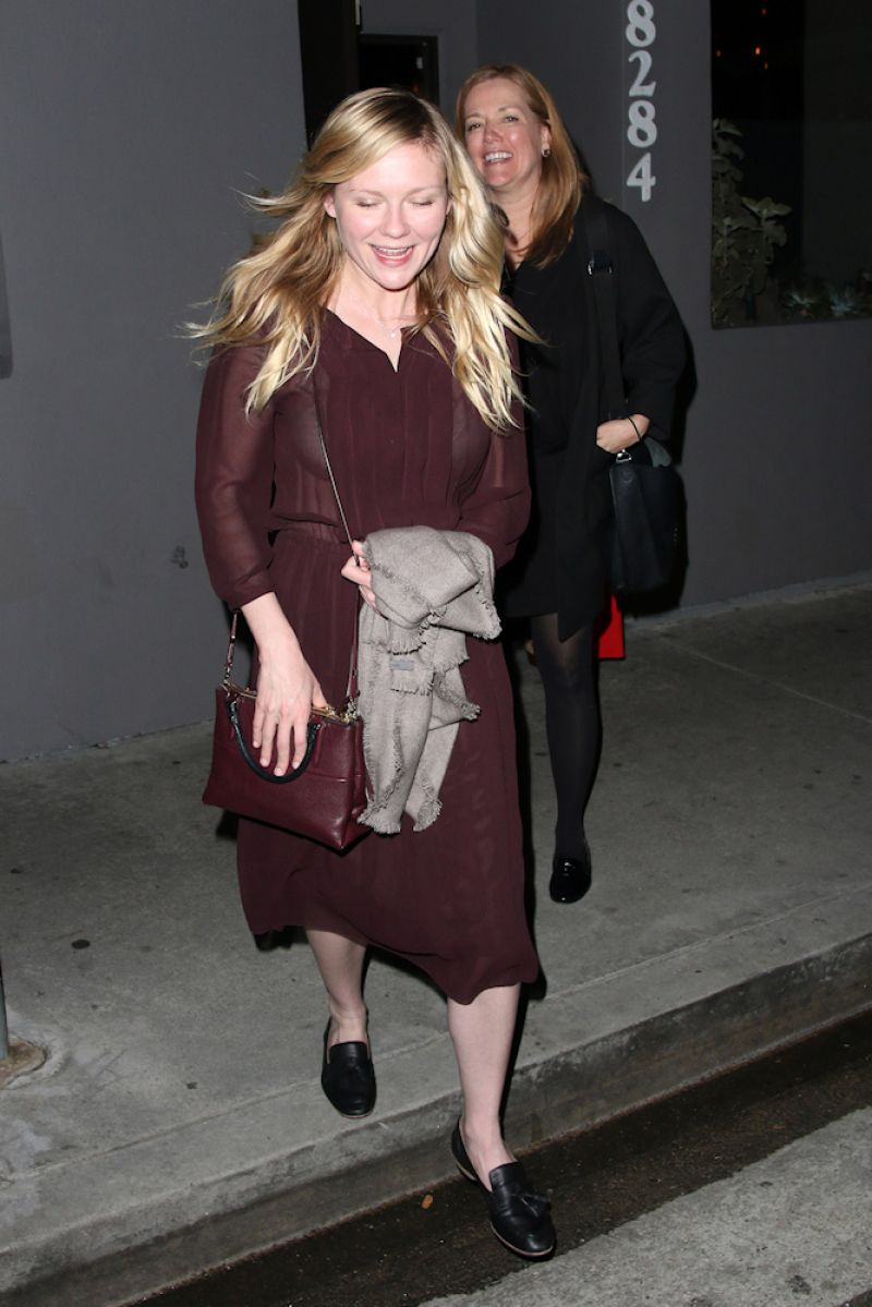 Kirsten Dunst Night Out Style - Crossroads in Los Angeles