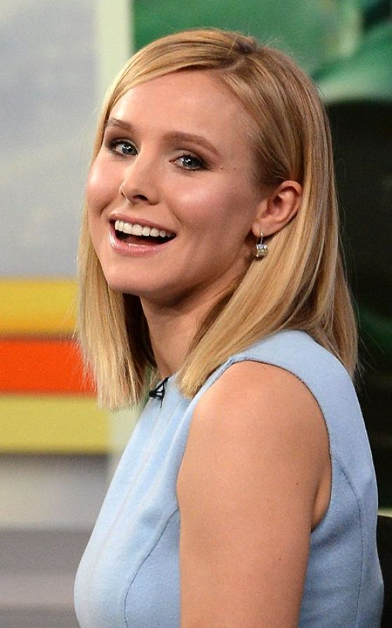 Kristen Bell - Good Morning America in New York City, March 2014