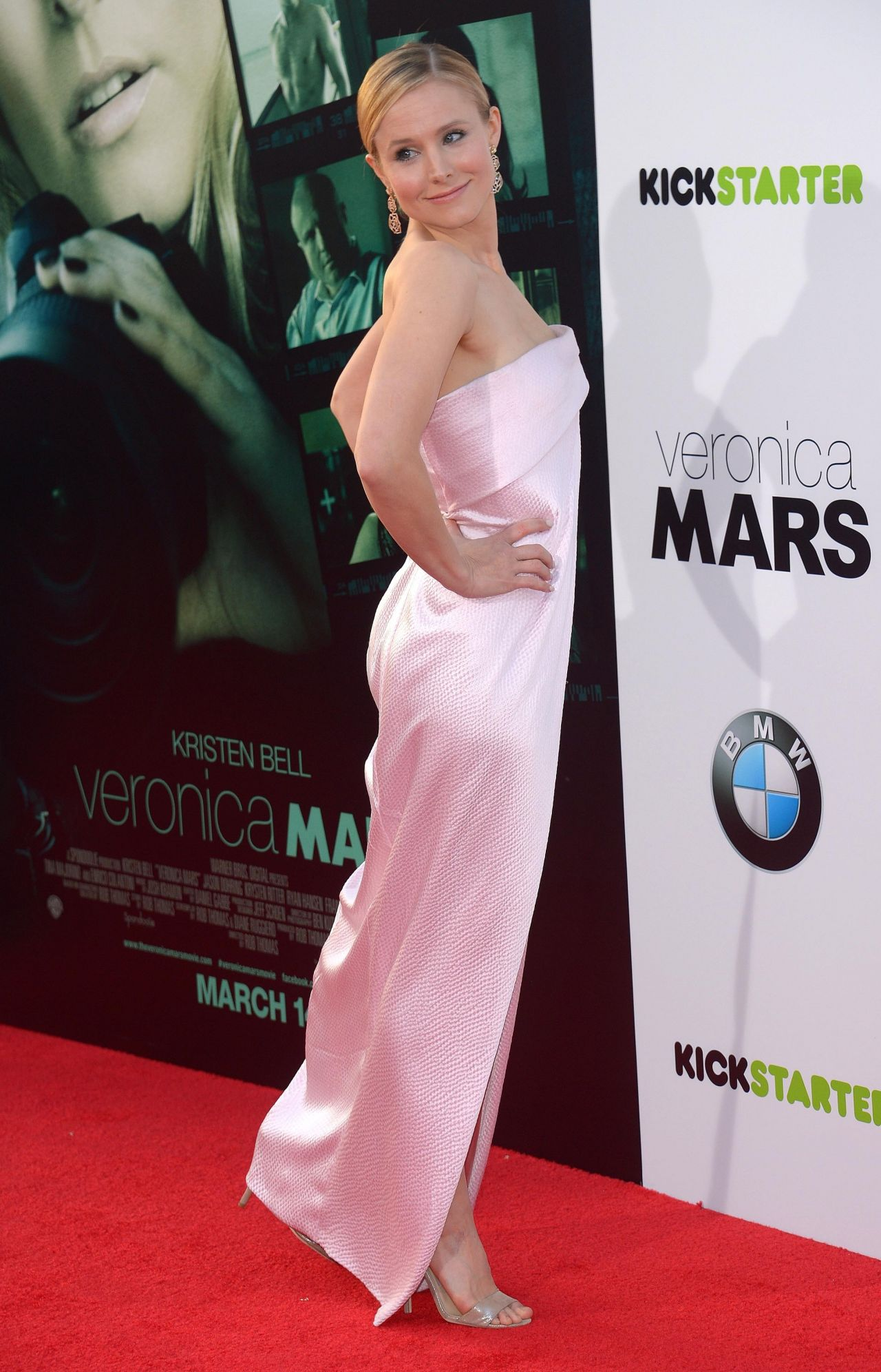 Kristen Bell Veronica Mars Premiere In Hollywood