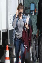 Kristen Stewart on the Set of