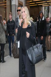Kristin Cavallari in New York City - Leaves NBC Studios