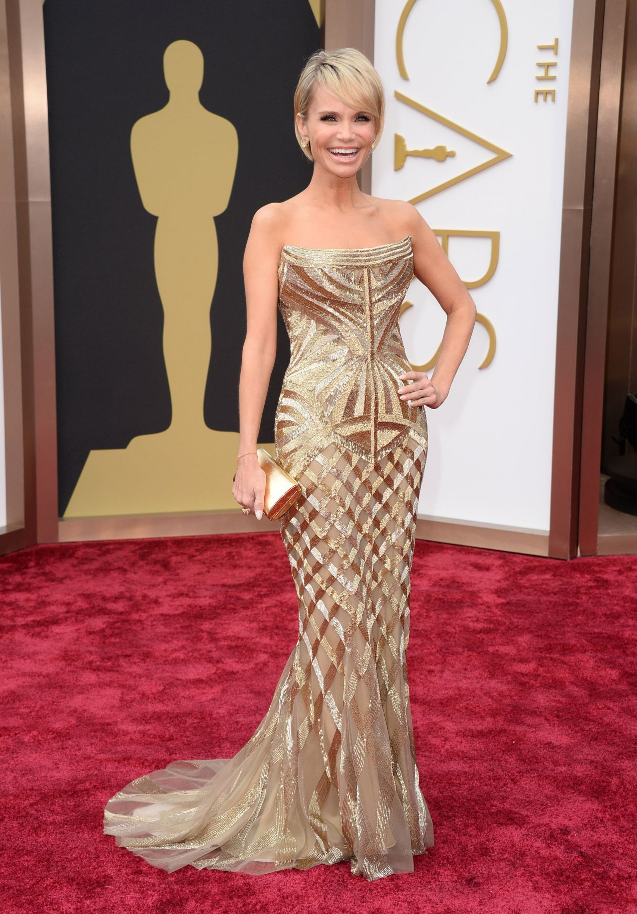 Kristin Chenoweth - 2014 OSCARS Red Carpet