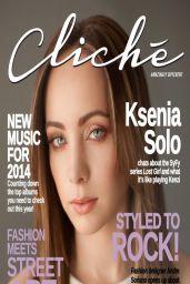 Ksenia Solo - Cliché Magazine Feb/Mar 2014 Issue
