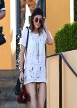 Kylie Jenner - Leaving After Lunch at Sugarfish Sushi Bar, March 2014