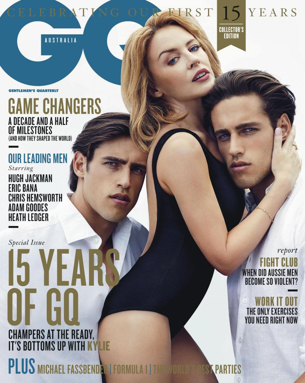 Kylie Minogue – GQ Magazine (Australia) – March 2014 Issue