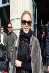 Kylie Minogue in Paris - Gare du Nord, March 2014