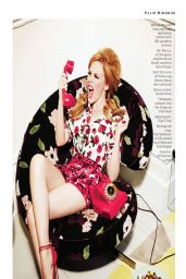 Kylie Minogue - Stylist Magazine (UK) - March 19, 2014 Issue