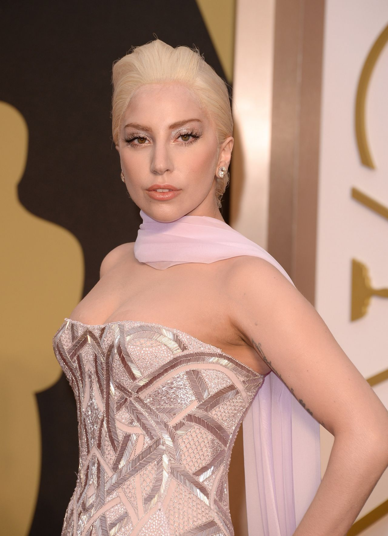 Lady Gaga - 2014 Oscars in Hollywood
