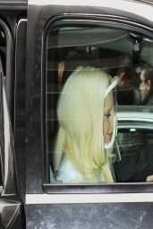Lady Gaga in New York City - Leaves Her Building in Manhattan - March 2014