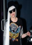 Lady Gaga - Leaving a Studio in Hollywood - February 2014