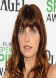 Lake Bell at Film Independent Spirit Awards in Santa Monica