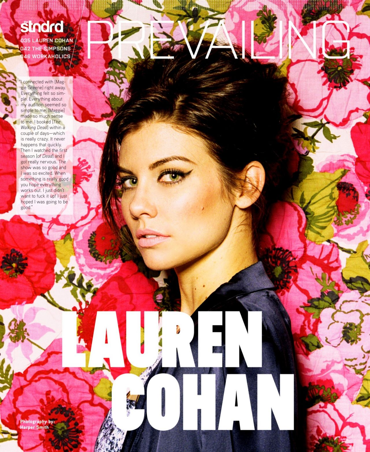 Lauren Cohan - STNDRD Magazine - Issue #5