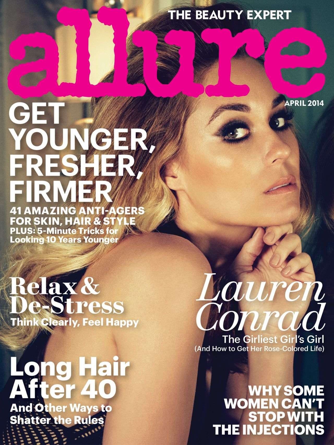 Lauren Conrad - Allure Magazine April 2014 Cover