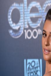 Lea Michele at 'Glee' 100th Episode Celebration – March 2014