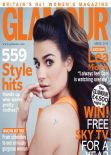 Lea Michele - Glamour Magazine (UK) - April 2014 Issue