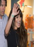 Lea Michele – 'Louder' Album Signing Event at a Record Store New Jersey NYC