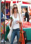 LeAnn Rimes Casual Street Style - Calabasas Farmer