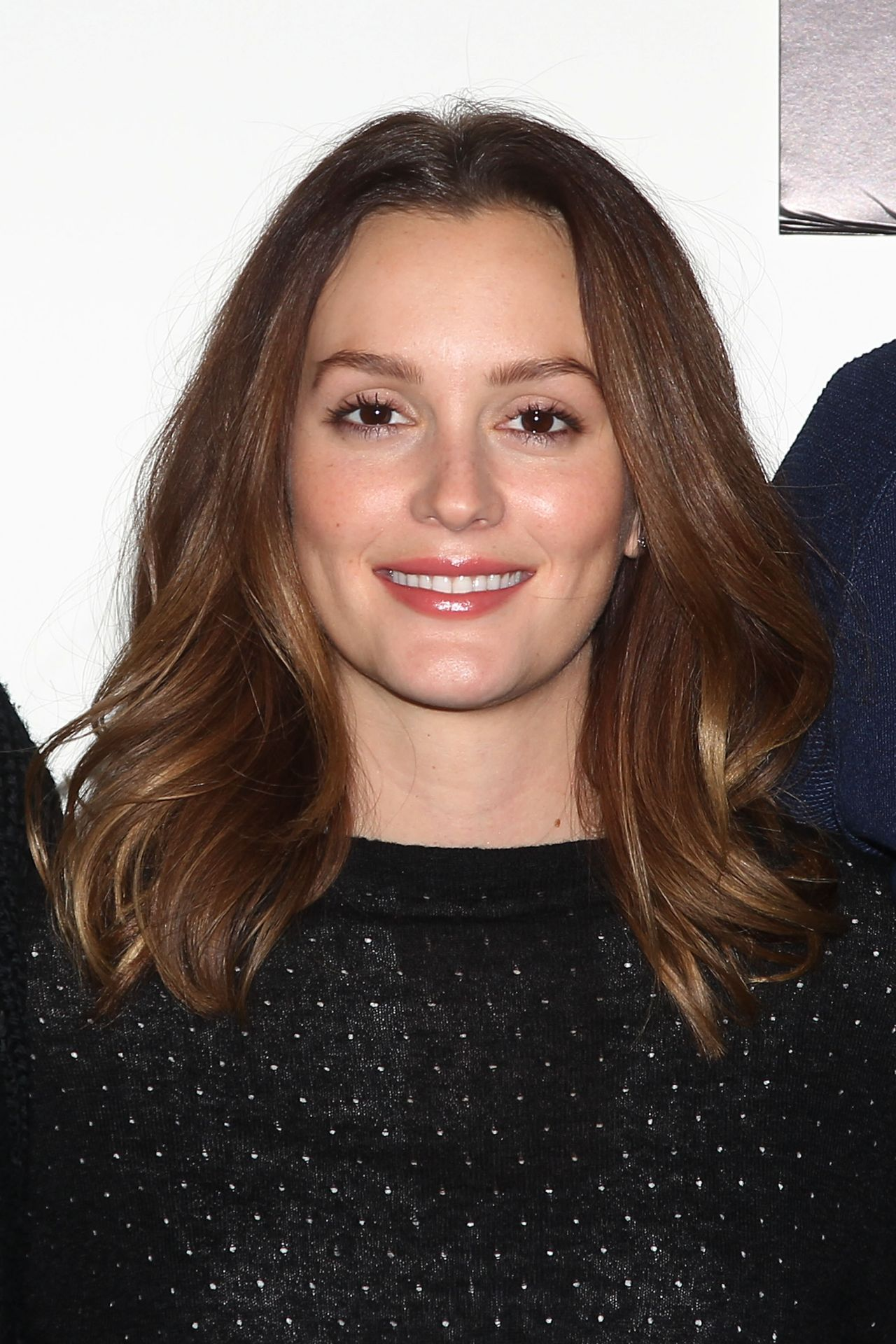 Leighton Meester Mice Men Press Conference