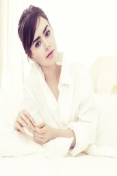 Lily Collins - Lancome Campaign 2014