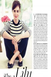 Lily Collins - Marie Claire Magazine (South Africa) - April 2014 Issue