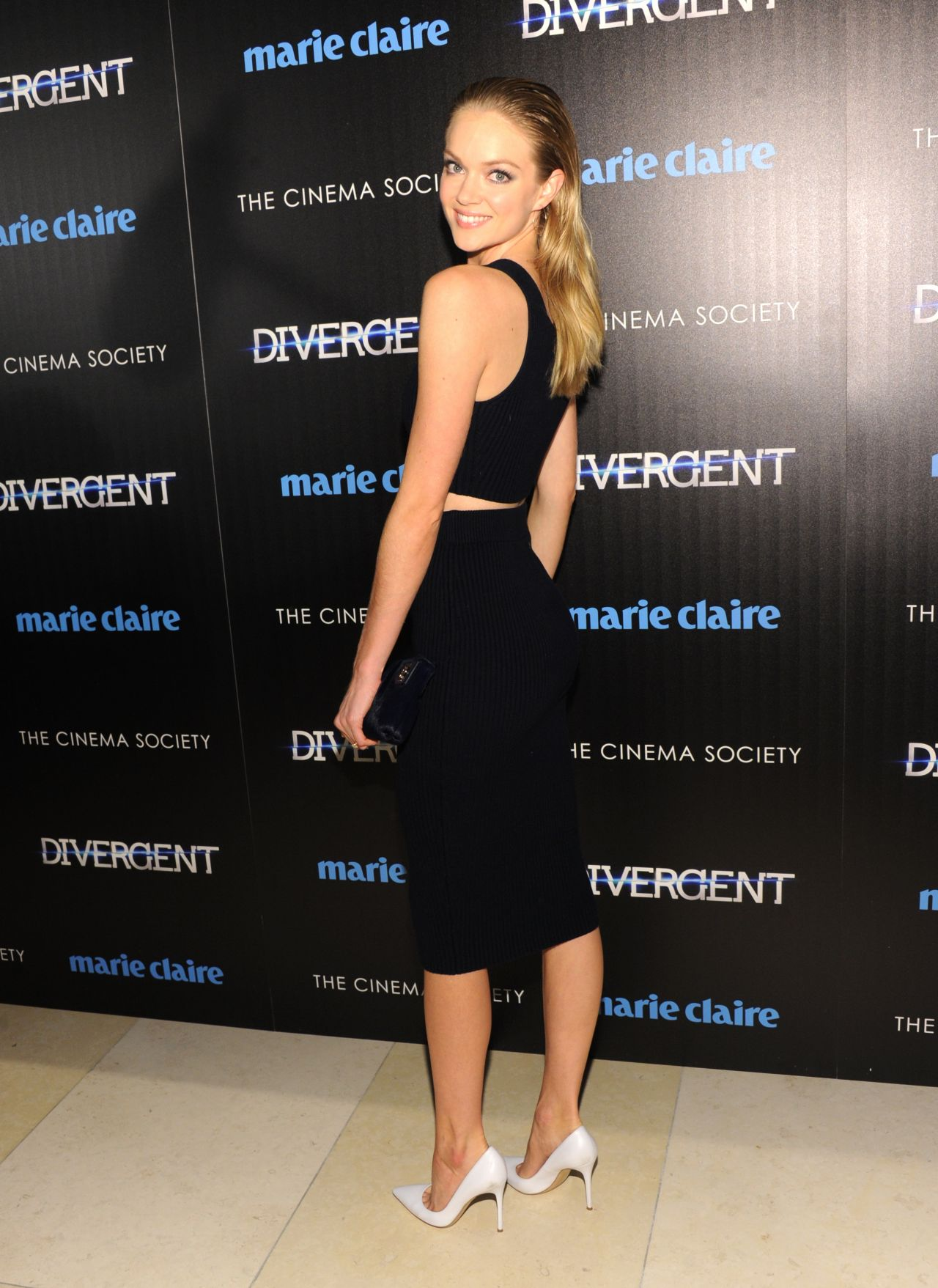 Lindsay Ellingson Divergent Screening In New York City