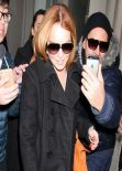 Lindsay Lohan Casual Style - Out in New York City, March 2014