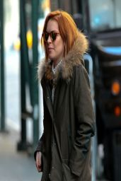 Lindsay Lohan in New York City - March 2014