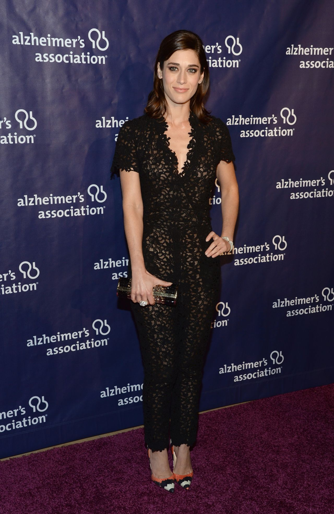 Lizzy Caplan - 2014 'A Night At Sardi's' at The Beverly Hilton Hotel