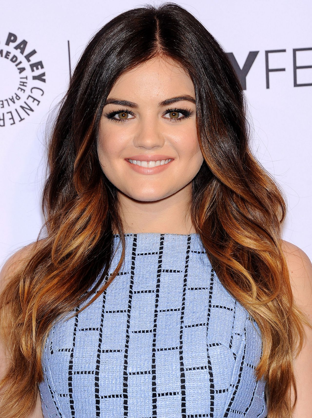 Lucy Hale In Tibi Pretty Little Liars At Paleyfest 2014