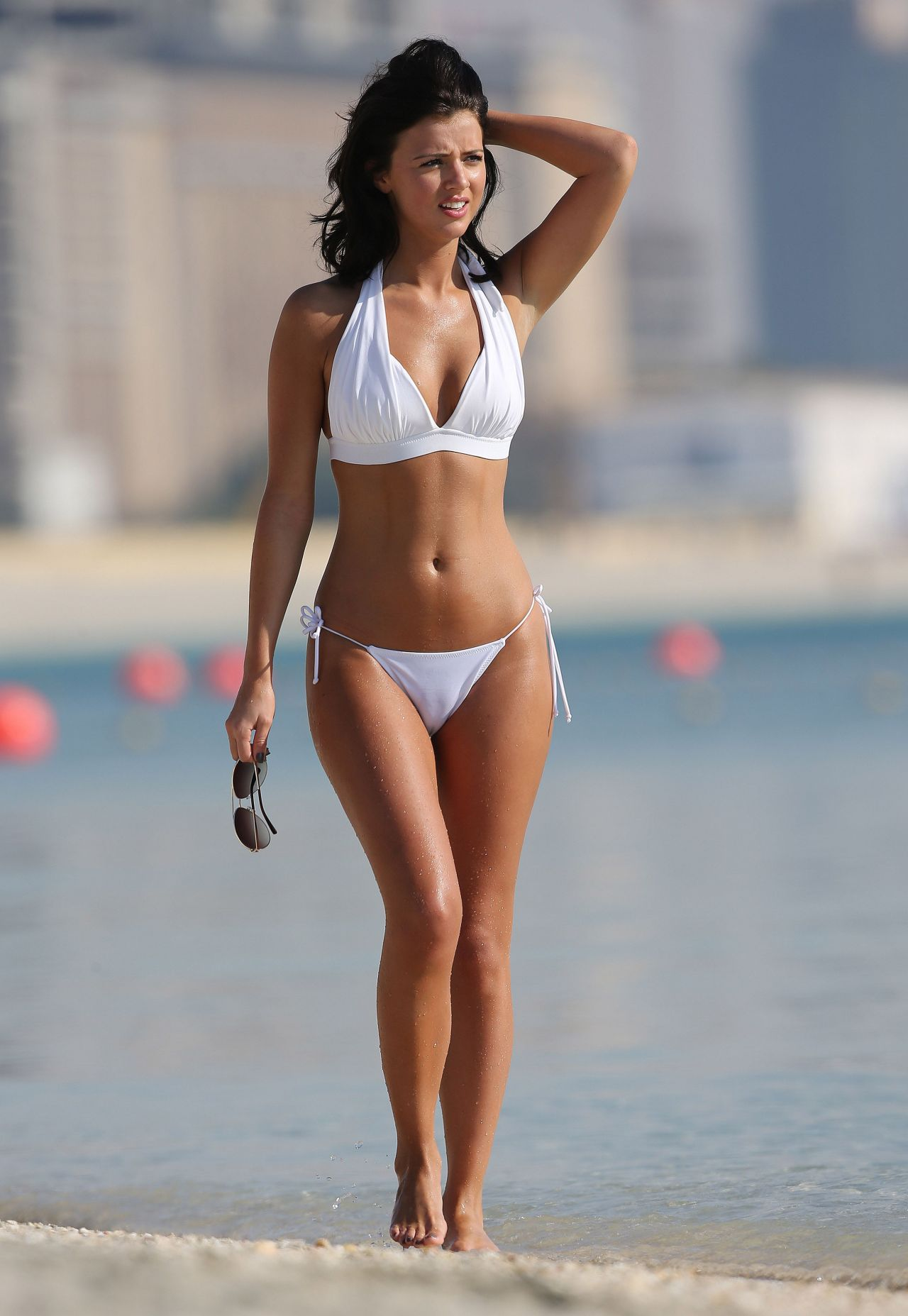 Lucy Mecklenburgh Hot In Bikini Dubai March 2014