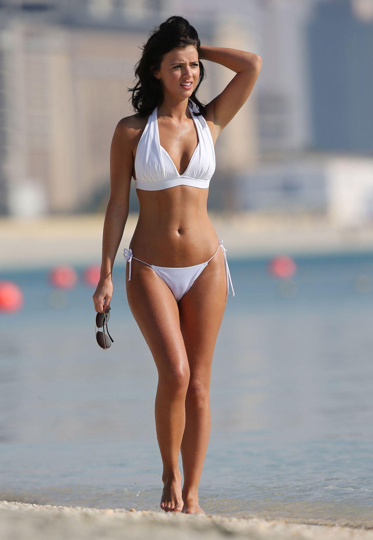 Lucy Mecklenburgh Hot In Bikini Dubai March 2014