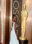 Lupita Nyong'o in Prada - 2014 Oscars Red Carpet