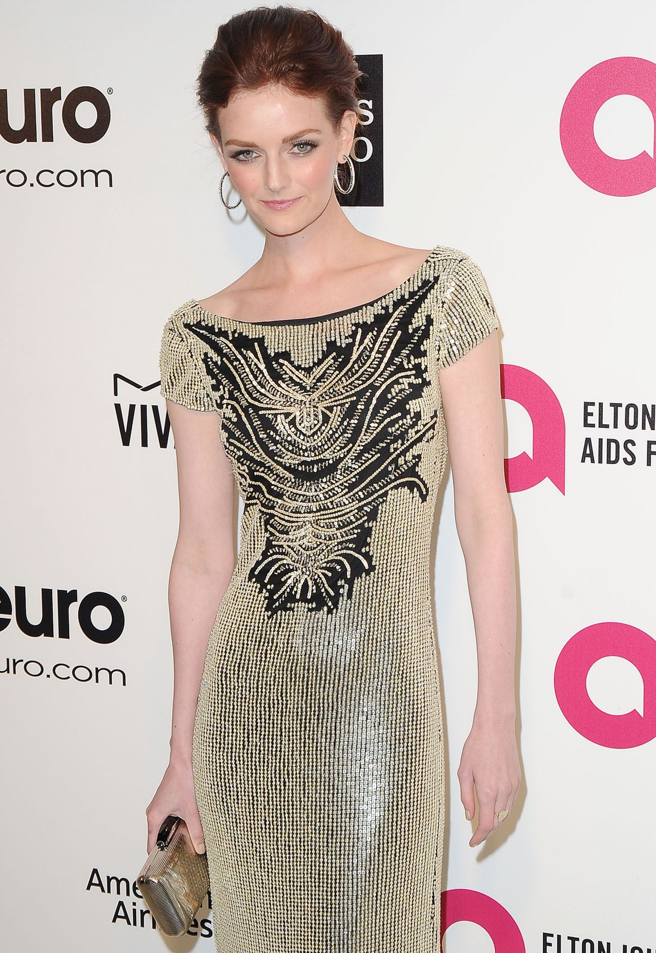 Lydia Hearst - 2014 Elton John Oscar Party