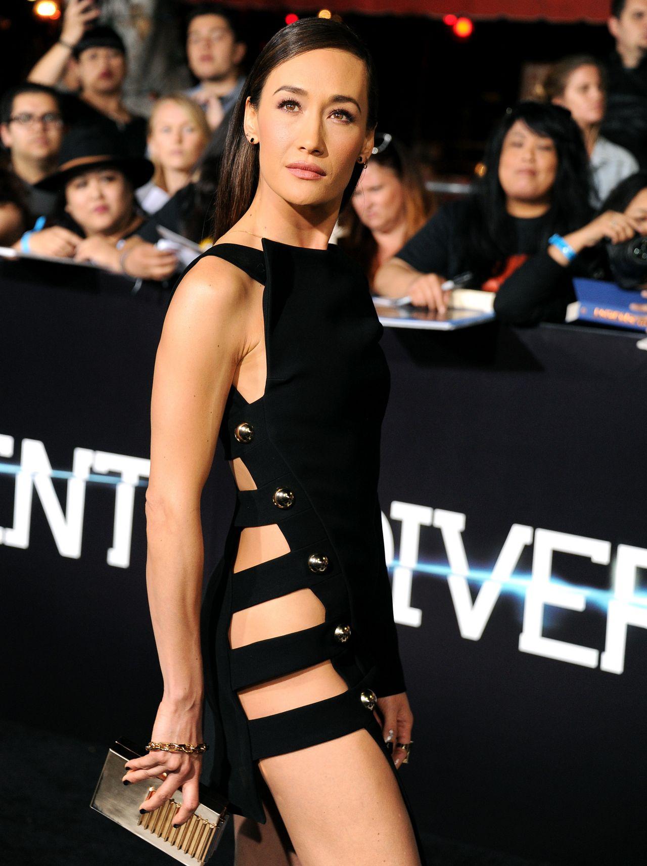 Maggie Q - Divergent Premiere In Los Angeles-3032