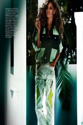 Malaika Firth - Vogue Magazine (Paris) April 2014 Issue