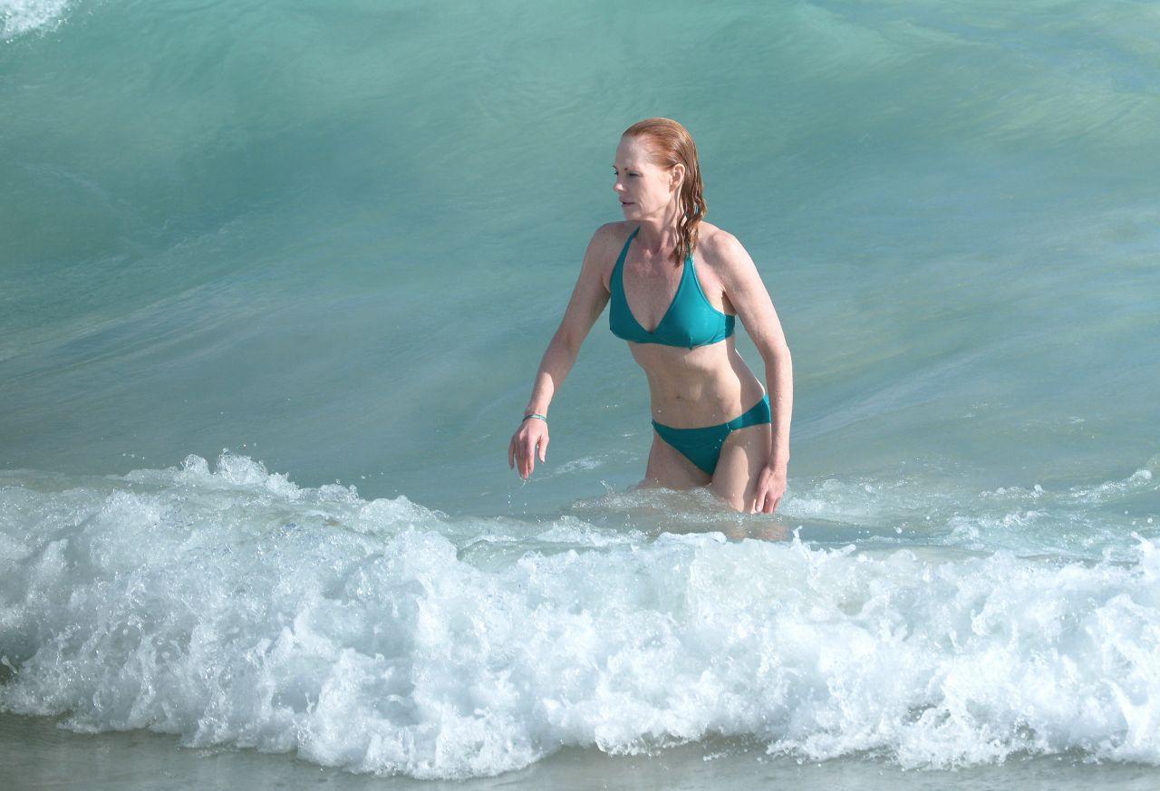 Marg Helgenberger Is a Bikini